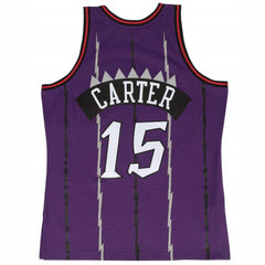 Mitchell & Ness NBA Swingman Jersey Raptors Carter Road 98/99 - Purple