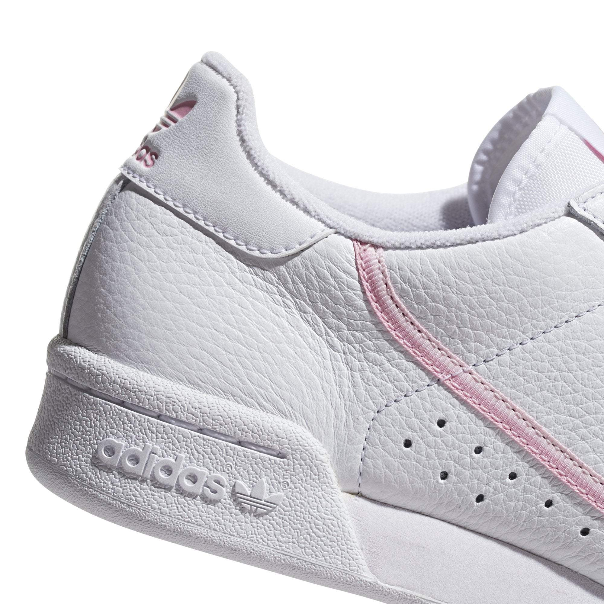 adidas Continental 80 Womens - White / Pink