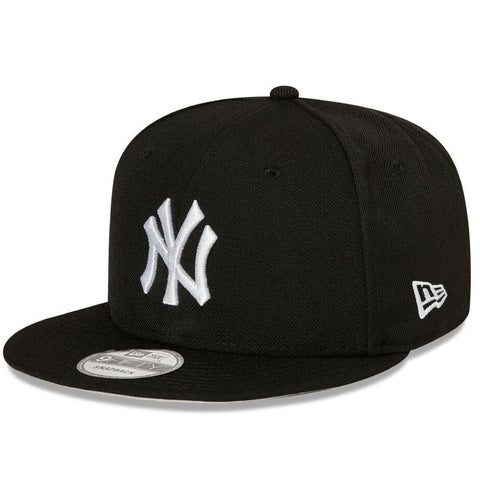 Black Basic 9FIFTY Snapback Yankees Black / White
