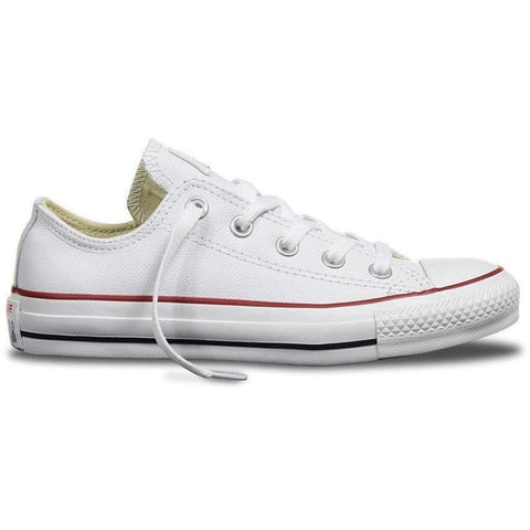 Converse All Star Low Leather White - West Brothers