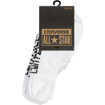 Converse Invisible Sock 3 Pack - White