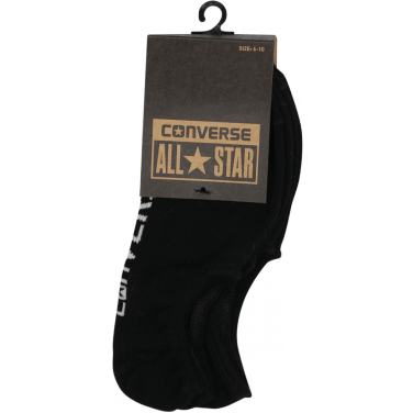 Converse Invisible Sock 3 Pack - Black