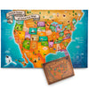 US Floor Map Puzzle - Best USA Puzzle Map for Kids and Adults