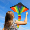 aGreatLife Huge Rainbow Kite for Kids - One of The Toys for Outdoor Games and Activities - Good Plan for Memorable Summer Fun