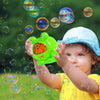 aGreatLife Bubble Blower Machine for Kids - with Solution