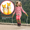 aGreatLife Premium Jump Rope for Kids Bunny - Adjustable, Wooden Animal Handle, Cotton Braided Skipping Rope for Girls