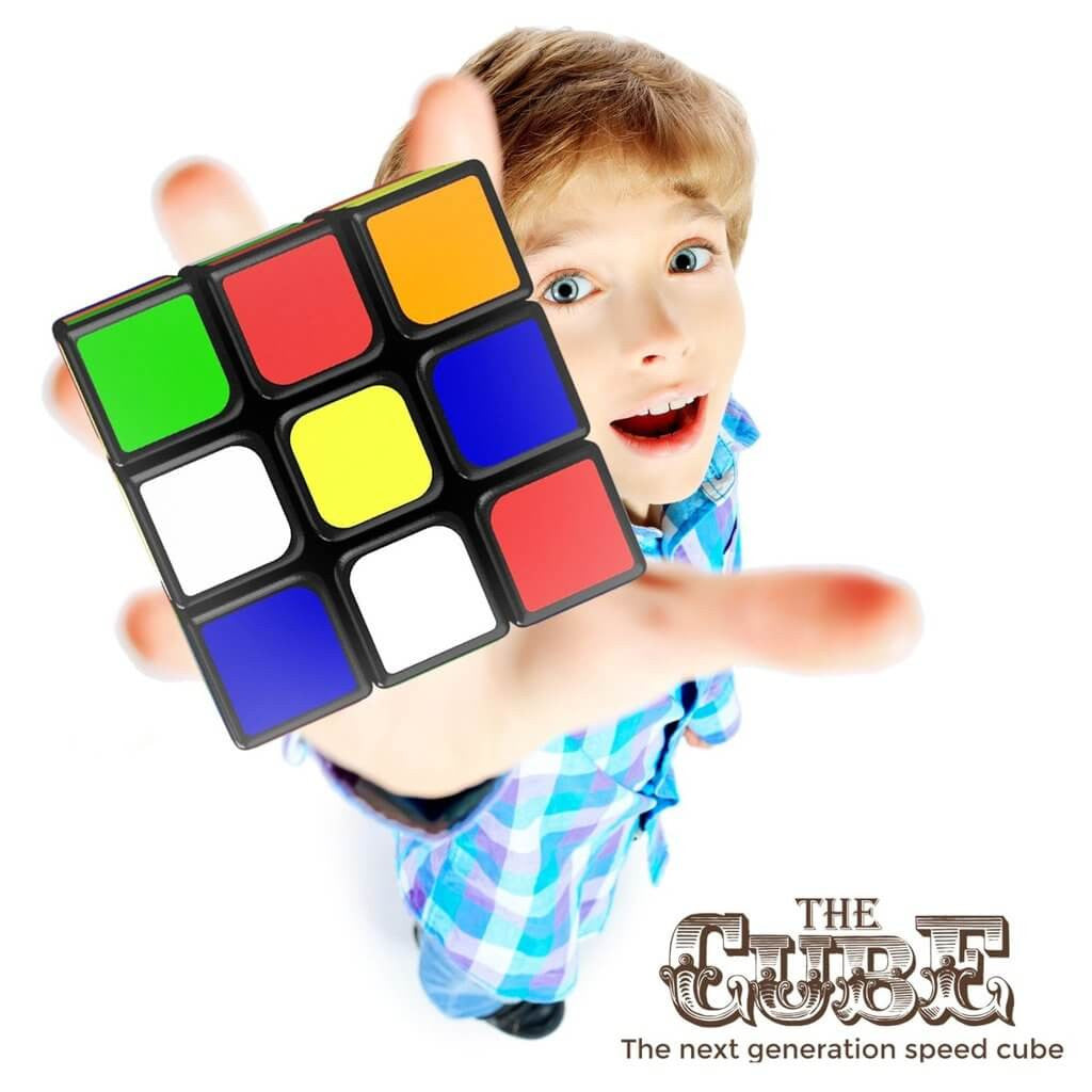 THE CUBE: TURNS QUICKER AND MORE PRECISELY THAN ORIGINAL; SUPER-DURABLE WITH VIVID COLORS; EASY TURNING AND SMOOTH PLAY pyramix speed cube original rubik's cube speed cube rubix cube speed cube good cubes rubik's cubes rubik's speed cube