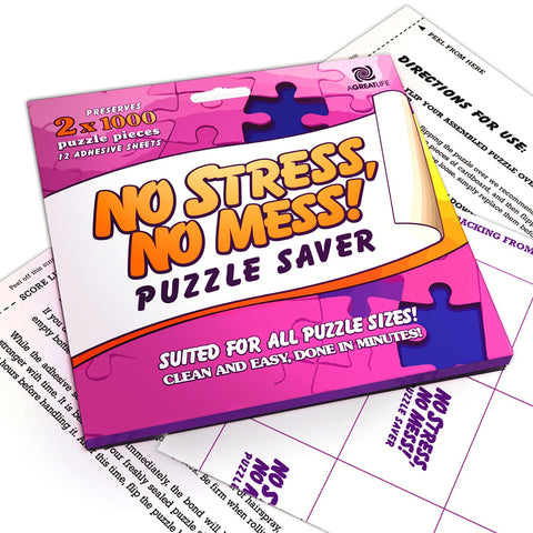 Puzzle Saver - Easy To Peel & Stick