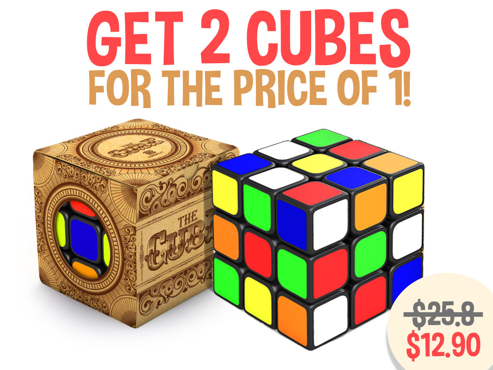 aGreatLife TWO 3x3 Speed Cubes for the Price of One!