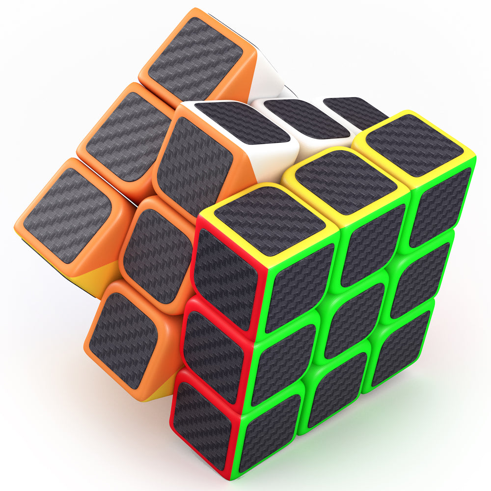 Speed Cube 3x3x3  aGreatLife Carbon Fiber With Superior Cornering