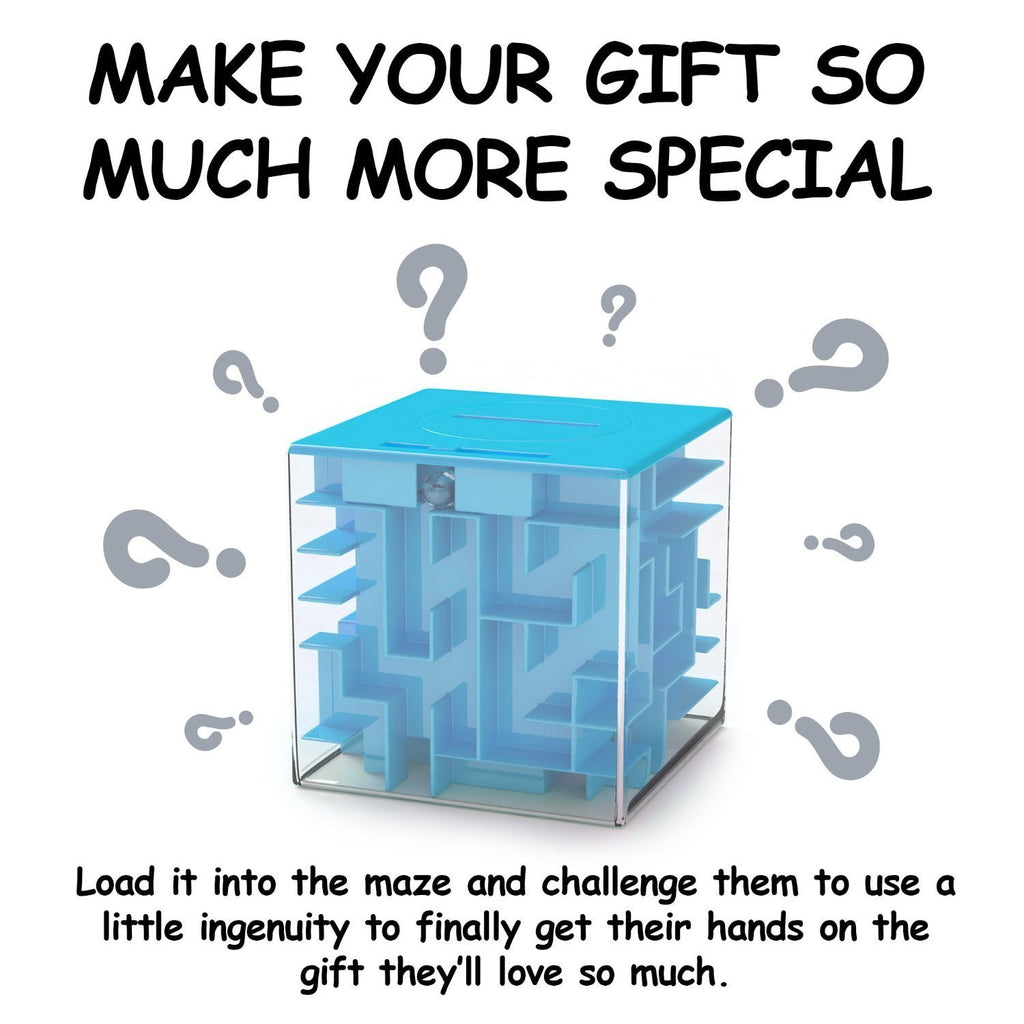 aMAZEd Money Maze: Unique Way to Give Gifts for Special People