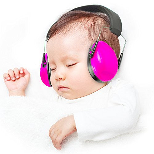 Safest Rated Baby Earmuffs With Noise Cancelling Headphones for Babies and Toddlers