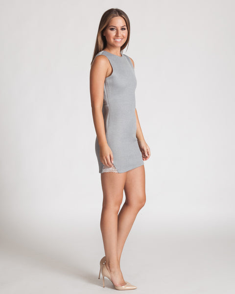 ASILIO BACK TO BACK GREY DRESS