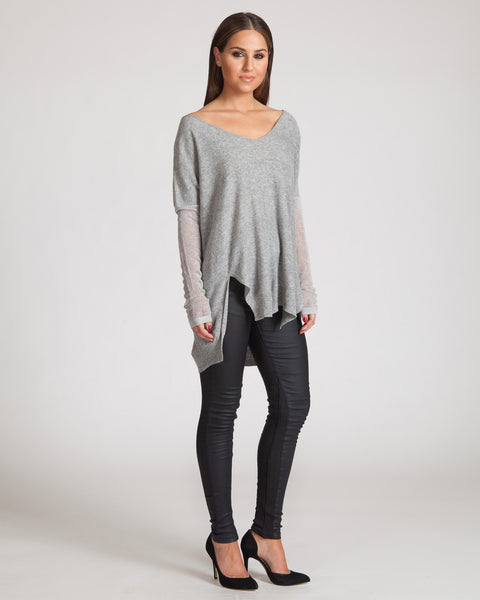 WILDE HEART SEEN IT ALL SWEATER-GREY