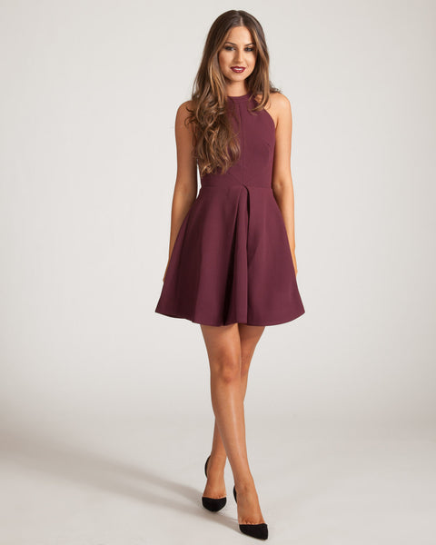 KEEPSAKE FIG ADORE YOU MINI DRESS