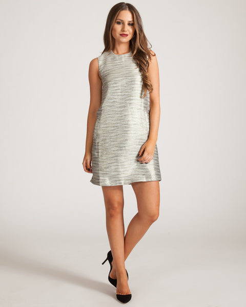 JAGGAR SPARROW METALLIC DRESS