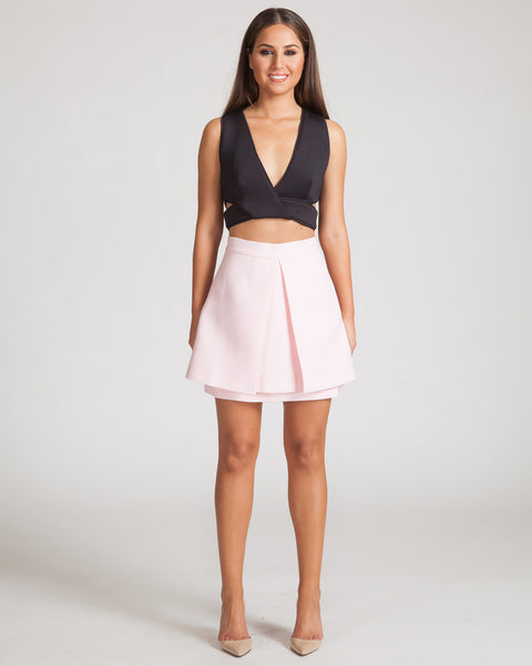 CAMEO ATMOSPHERE SKIRT-PALE PINK