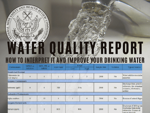 How to Read You Annual Water Report