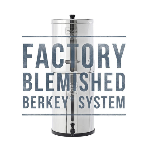 Blemished Crown Berkey Water Filter (6 gal)
