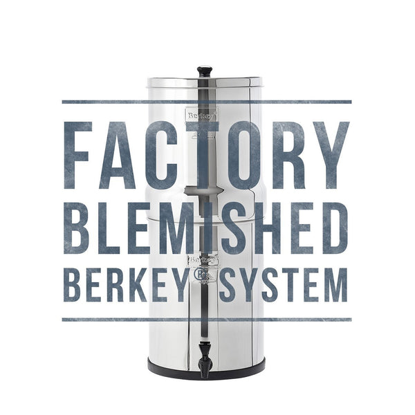 Blemished Imperial Berkey Water Filter (4.5 gal)