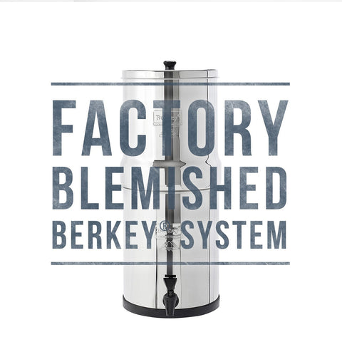 Blemished Travel Berkey Water Filter (1.5 gal)