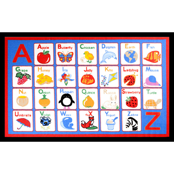 Concord Global Trading Funtime Alphabet Multi Area Rug - KINGDOM RUGS