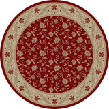 Concord Global Trading Imperial Serenity Red Area Rug - KINGDOM RUGS - 2