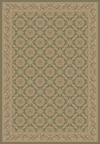Concord Global Trading Imperial Aubosson Heather Grey Area Rug - KINGDOM RUGS - 1