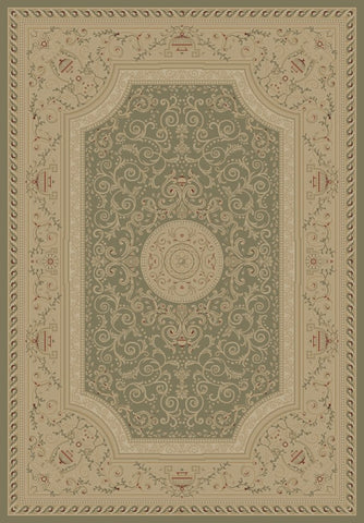 Concord Global Trading Imperial Savonnerie Heather Gray Area Rug - KINGDOM RUGS - 1