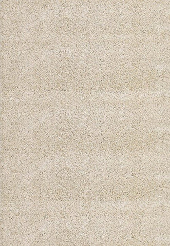 Concord Global Trading Shaggy Plain Ivory Area Rug - KINGDOM RUGS - 1