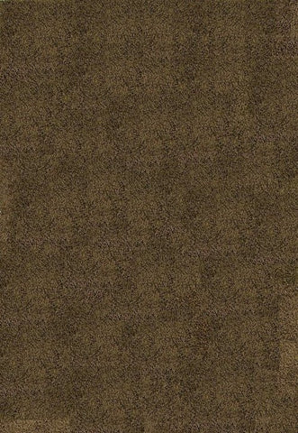 Concord Global Trading Shaggy Plain Brown Area Rug - KINGDOM RUGS - 1