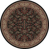 Concord Global Trading Persian Sarouk Black Area Rug - KINGDOM RUGS - 2