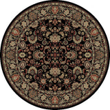 Concord Global Trading Persian Mahal Black Area Rug - KINGDOM RUGS - 2