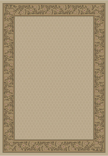 Concord Global Trading Jewel Harmony Ivory Area Rug - KINGDOM RUGS - 1