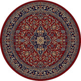 Concord Global Trading Jewel Heriz Red Area Rug - KINGDOM RUGS - 2