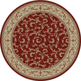 Concord Global Trading Jewel Veronica Red Area Rug - KINGDOM RUGS - 2