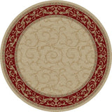 Concord Global Trading Jewel Veronica Ivory Area Rug - KINGDOM RUGS - 2