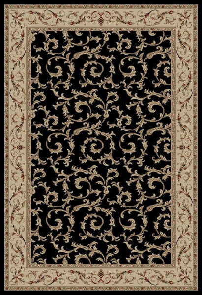 Concord Global Trading Jewel Veronica Black Area Rug - KINGDOM RUGS - 2