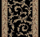 Concord Global Trading Jewel Veronica Black Area Rug - KINGDOM RUGS - 4