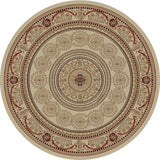 Concord Global Trading Jewel Aubusson Ivory Area Rug - KINGDOM RUGS - 2