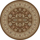 Concord Global Trading Jewel Antep Brown Area Rug - KINGDOM RUGS - 2