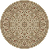 Concord Global Trading Jewel Voysey Ivory Tonel Area Rug - KINGDOM RUGS - 2