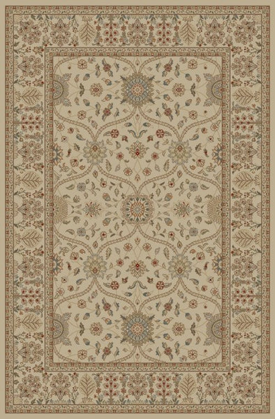 Concord Global Trading Jewel Voysey Ivory Tonel Area Rug - KINGDOM RUGS - 1