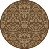 Concord Global Trading Jewel Damask Brown Area Rug - KINGDOM RUGS - 2