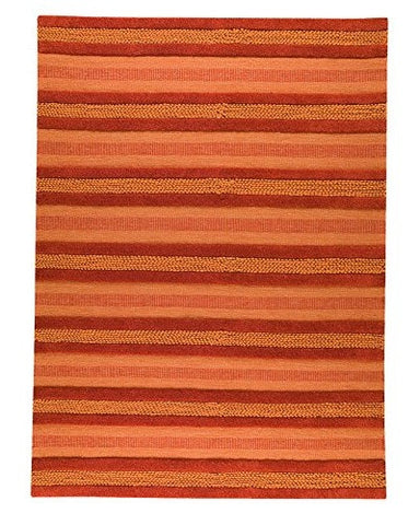 MAT The Basics Grenada Orange Area Rugs - KINGDOM RUGS