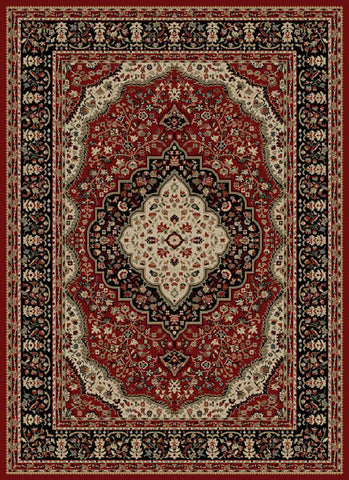 Concord Global Trading Ankara Kerman Red Area Rug - KINGDOM RUGS - 1