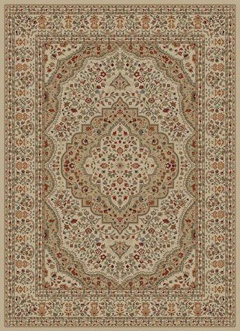 Concord Global Trading Ankara Kerman Ivory Area Rug - KINGDOM RUGS - 1