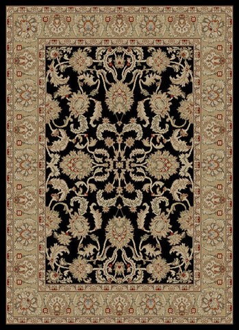Concord Global Trading Ankara Oushak Black Area Rug - KINGDOM RUGS - 1