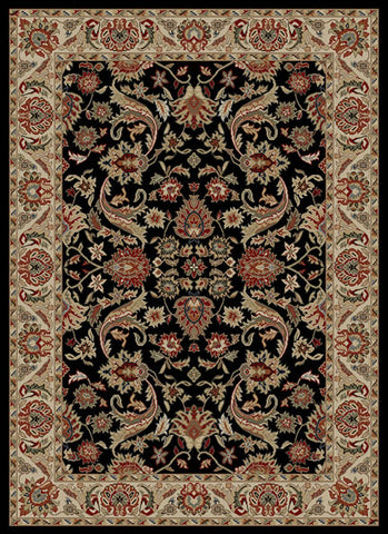 Concord Global Trading Ankara Sultanabad Black Area Rug - KINGDOM RUGS - 1