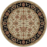 Concord Global Trading Ankara Zeigler Ivory Area Rug - KINGDOM RUGS - 2